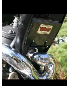 Trick Bits - Carbon Look Engine Splash Guard - Sherco 2006>2007