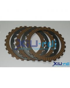 XiU-rdi Steel and Kevlar Friction Clutch Plates - TRS, JotaGas