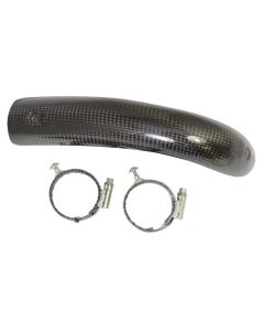 2M Carbon Parts - Front Pipe Guard - Sherco / Scorpa 2014 onwards