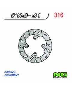 NG Front Brake Disc Beta Rev 00-02