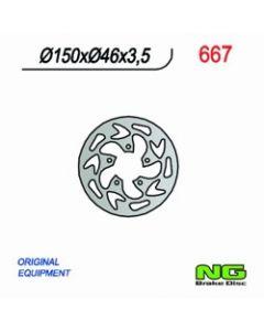 NG Rear Brake Disc Gas Gas Rookie 50/80 03-11