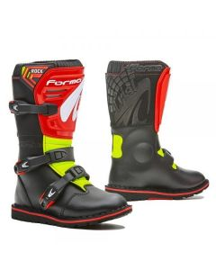 Black / Red / Fluo Yellow