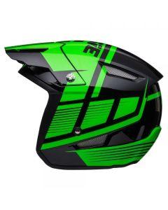 Black / Fluo Green