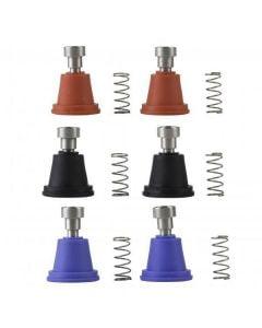 Jitsie AJP / Grimeca Rubber Boot Kit (Blue, Red, Black)