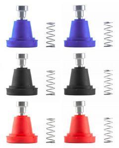 Jitsie Braktec Rubber Boot Kit (Blue, Red, Black)