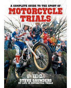 Complete Guide To Motorcycle Trials Book - Steve Saunders