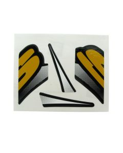 Sherco Frame Stickers 2009