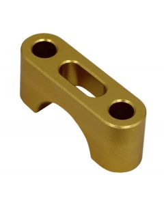 Sherco Handlebar Clamp Bottom - Gold