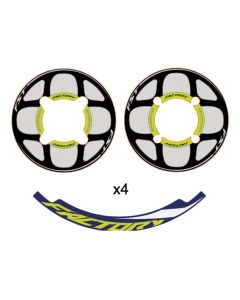 Sherco Rim and Sprocket Sticker Kit - 2020 ST Factory