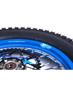 S3 Blue Rim Stickers