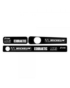 Jitsie Swingarm Stickers - Montesa 4RT 2005 onwards