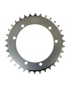 Talon Rear Sprocket - Sherco X Ride - 34T - Silver (Special Order - 4-6 Week Manufacturing Time)